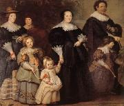 Cornelis de Vos Family Portrait oil