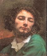 Courbet, Gustave Self-Portrait (Man with a Pipe) oil