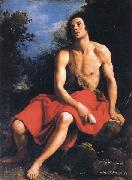 Cristofano Allori St.John the Baptist in the Desert oil painting picture wholesale