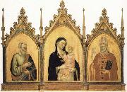 DADDI, Bernardo Madonna and Child with SS.Mat-thew and Nicholas of Bari oil painting picture wholesale