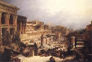 David Roberts The Israelites Leaving Egypt oil painting picture wholesale