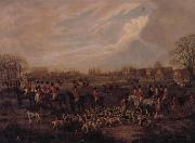 Dean Wolstenholme The Essex Hunt,1831 A set of Four Paintings oil painting artist