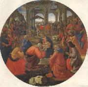 Domenico Ghirlandaio The Adoration of the Magi oil painting picture wholesale