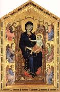 Duccio di Buoninsegna Madonna and Child Enthroned with Six Angels oil painting picture wholesale