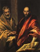 El Greco Apostles Peter and Paul oil painting picture wholesale