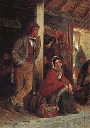 Erskine Nicol The Emigrants oil painting artist