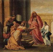 Eustache Le Sueur The Prsent of the Virgin in the Temple oil painting picture wholesale