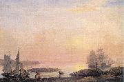 Fitz Hugh Lane Castine Harbor oil painting artist