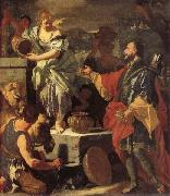 Francesco Solimena Rebecca at the Well oil painting picture wholesale