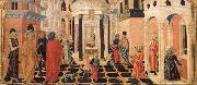 Francesco di Giorgio Martini Three Stories from the Life of St.Benedict oil painting artist