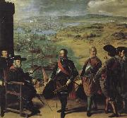 Francisco de Zurbaran The Defense of Cadiz Against the English oil painting picture wholesale