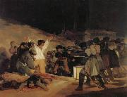 Francisco de goya y Lucientes The Executios of May3,1808,1804 oil painting picture wholesale