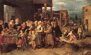Francken, Frans II The Seven Acts of Charity oil painting picture wholesale