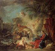 Francois Boucher Rest on the Flight into Egypt oil painting picture wholesale