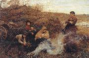 Frederick Walker,ARA,RWS The Vagrants oil painting picture wholesale