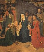 Gerard David The Adoration of the Magi oil painting artist