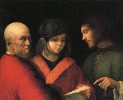Giorgione The Singing Lesson oil painting picture wholesale