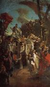 Giovanni Battista Tiepolo The Triumph of Aurelian oil painting picture wholesale