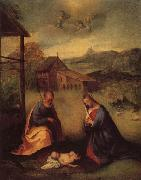 Girolamo Romanino Adoration of the Christ oil painting artist