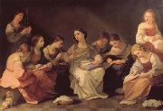 Guido Reni The Girlhood of the Virgin Mary oil painting picture wholesale