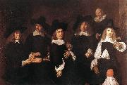 HALS, Frans Regents of the Old Men's Almshouse oil painting picture wholesale