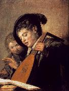 HALS, Frans Two Boys Singing oil painting picture wholesale