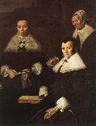 HALS, Frans Regentesses of the Old Men's Almshouse (detail) oil painting picture wholesale