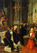 Isenbrandt, Adriaen The Mass of St. Gregory oil painting picture wholesale