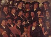 JACOBSZ, Dirck Group Portrait of the Arquebusiers of Amsterdam oil painting picture wholesale