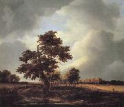 Jacob van Ruisdael Landscape with Shepherds and Peasants oil painting picture wholesale