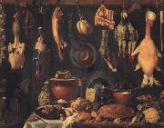 Jacopo da Empoli Still Life with Game oil painting artist