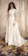 James Abbott McNeil Whistler Symphony in white No 1 The White Girl oil painting picture wholesale