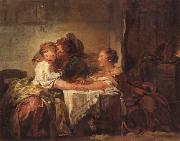 Jean Honore Fragonard A Kiss Won oil painting picture wholesale