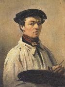 Jean-Baptiste Corot Self-Portrait oil painting artist