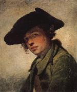 Jean-Baptiste Greuze A Young Man in a Hat oil painting picture wholesale
