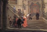 Jean-Leon Gerome L Eminence grise oil painting reproduction