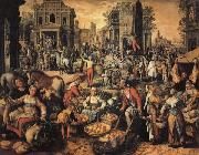 Joachim Beuckelaer Pilate Shows Jesus to the People oil painting picture wholesale