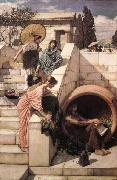 John William Waterhouse Diogenes oil painting picture wholesale