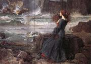 John William Waterhouse Miranda-The Tempest oil painting picture wholesale