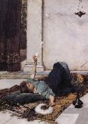 John William Waterhouse Dolce Far Niente oil painting picture wholesale
