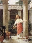 John William Waterhouse In the Peristyle oil painting picture wholesale