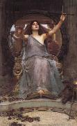 John William Waterhouse Circe Offering the  Cup to Odysseus oil painting picture wholesale