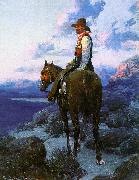 Johnson, Frank Tenney The Rustler oil painting picture wholesale
