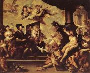 Luca Giordano Rubens Painting an Allegory of Peace oil painting picture wholesale