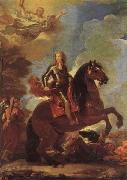 Luca Giordano Equestrian Portrait of Charles II oil painting picture wholesale