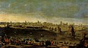 Maino, Juan Bautista del View of the City of Zaragoza oil painting picture wholesale