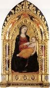 Niccolo di Pietro Gerini Madonna and Child oil painting artist
