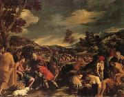 ORRENTE, Pedro The Miracle of the Loaves and Fishes oil