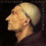 PERUGINO, Pietro Portrait of Baldassare Vallombrosano oil painting picture wholesale