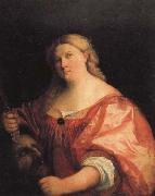 Palma Vecchio Judith with the Head of Holofernes oil painting picture wholesale